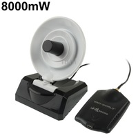 880WG 2.4GHz 8000mW 802.11b/g 54Mbps USB 2.0 Wireless WiFi Network Adapter, 58dBi Gain Antenna, Support Network Decoder