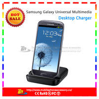 Free Shipping Desktop Cradle Battery Charger Dock Station Holder For Samsung Galaxy S3 III i9300 Black