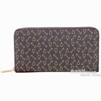 Hot 2014 Purses European Style pvc Leather wallets fashion money organizer designer Lady  Clutch Purse Men single zipper wallet