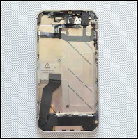 For iphone 4S Middle MidFrame Full Assembly Chassis Bezel Housing Mid Frame Free Shipping
