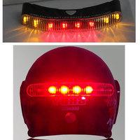 Wireless Motorcycle Helmet Brake Turn Signal LED Light Kits Safe Lamp for Ride
