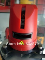 Free Shipping! 1v1h Laser level red beam laser level Cross Laser Level 1V1H Red 2 line 1 point