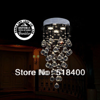 Noble New name brand Hot selling luxury Crystal Modern ceiling Light For Villa Hotel Palace,etc Dia 500*1000MM OEM