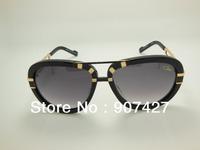 Free Shipping Brand New 2013 Hot Selling Popular Brand Germany MOD 8006 Sunglasses  Unisex Acetate Big Size Sunglasses