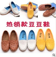 Child gommini loafers 2013 autumn girls shoes male child little boy leather shoes casual shoes single shoes
