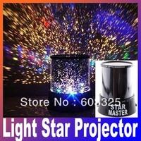 Free shipping Star Master Projectors Night Light Cosmos projector Stars Constellation Lamp Interactive Nightlight for Kids