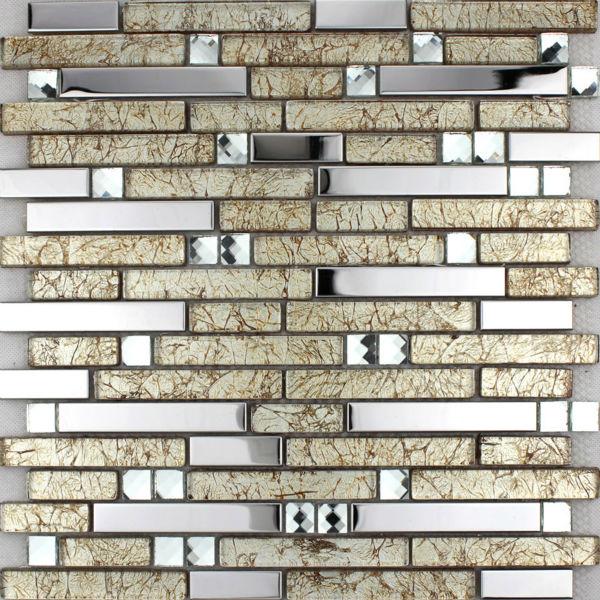 Home Building Glass Tile Kitchen Backsplash Idea Bath