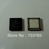 INTERSIL ISL6267HRZ  ISL6267  QFN  Multiphase PWM Regulator for AMD Fusio Mobile CPUs