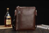 Genuine Leather +PU Leather Men Shoulder Bag Fashion Leather Men Messenger Bag Brand Design Business Bag Promotion B29