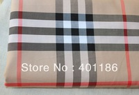 pf1 London Style Check 100% Cotton tartan Lattice grid Plaid fabric cloth textile yard retail or wholesale