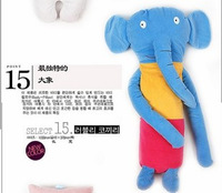 Free shipping +buddy elephants long feet baby super popular in South Korea the cloud pillow cushion
