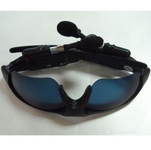 Mp3 bluetooth sun glasses mp3 glasses bluetooth glasses 2gb(China (Mainland))
