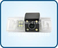 free shipping night view car rear view camera with IR 4 for NISSAN X-TRAIL/QASHQAI/SUNSHINE/PEUGEOT 407/408/308CC/307(2)/307CC