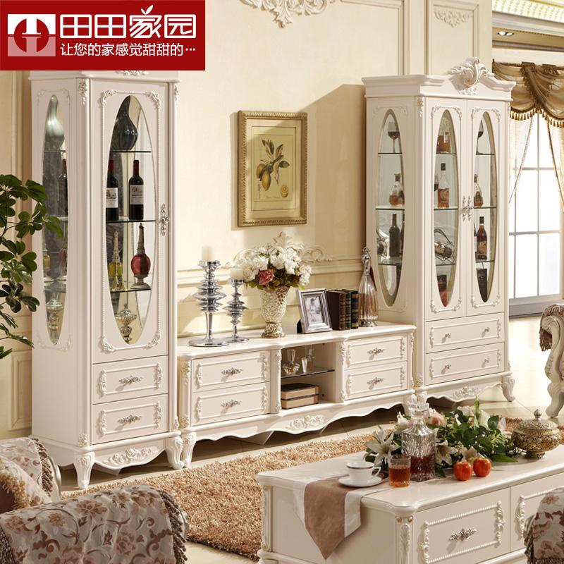 Online kopen wholesale glazen deur dressoir uit china glazen deur dressoir groothandel - Mode stijl amerikaans ...