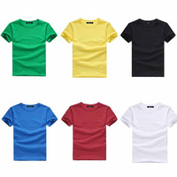 Men's clothing t-shirt trend men's clothing o-neck slim personality casual ice cream t shirt summer