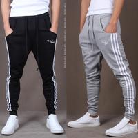 NEW 2013 FREE SHIPPING Autumn Korean men's long trousers casual Slim pants MEN'S Sport Pants feet pants harem pants MAN XXL