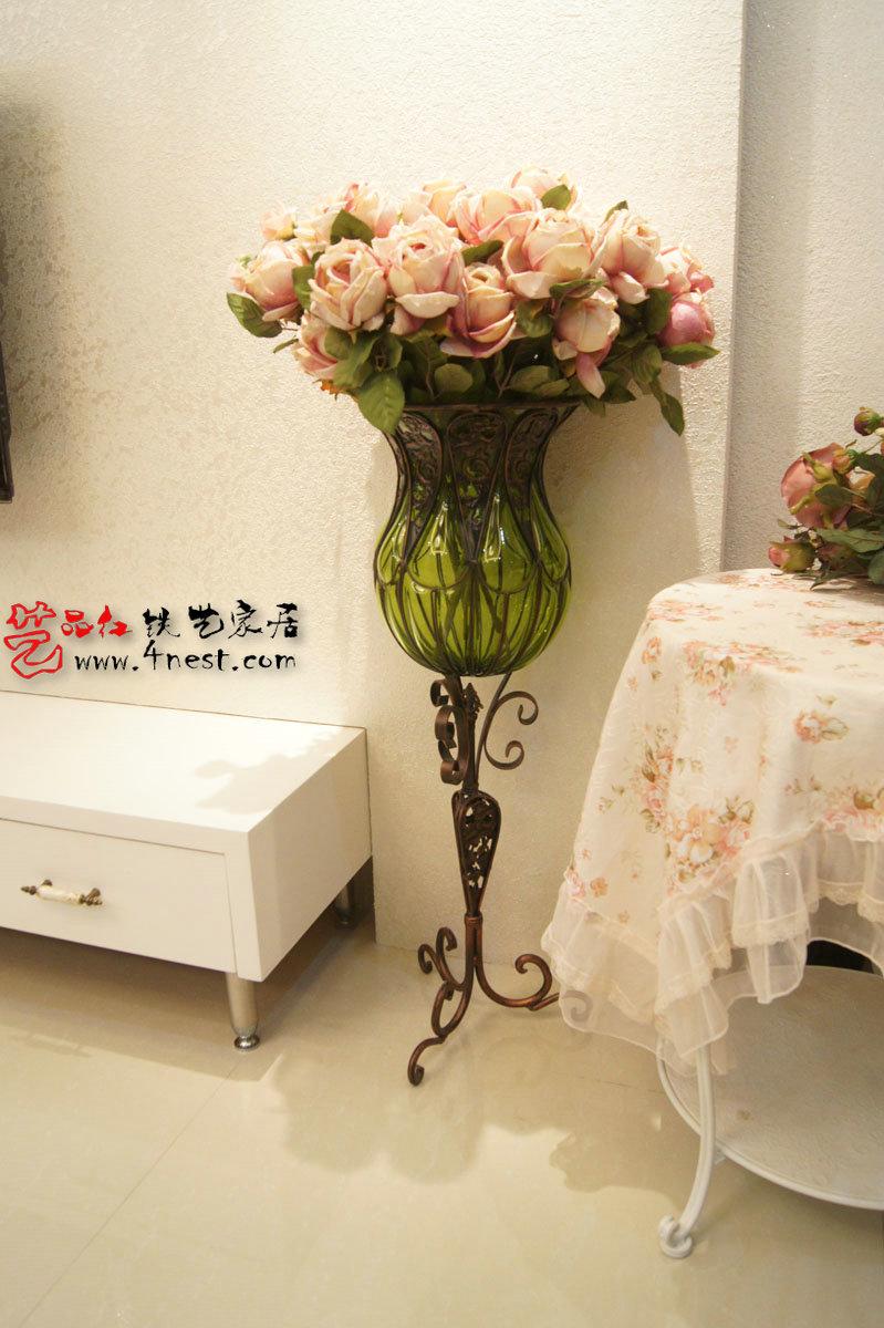 ... vaso di vetro alto moda moderna pavimento in vetro tieyi piano fiore