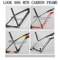 Sales Promotion ! Great Discount ! LOOK 986 E POST Mountain bicyle carbon frame with stem comes with handlebar + glasses S M L