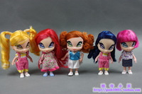 New 2013 !Kawaii Mini Winx Club  Dolls,12cm,dolls for girls.
