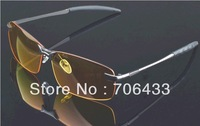 Free dropshipping 2013 fashion night vision goggles for driver motorcycle Coat Van sunglasses men PR24