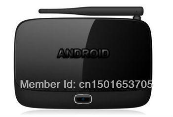 Mini PC 1080P, External WiFi antenna, Dual-core Android 4.1.1  TV Box RK3066 1GB DRR3+4GB Nand Flash
