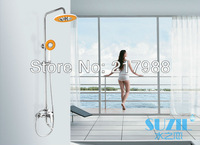 Fast delivery free shipping High quality New Design bathroom  Brass Shower Set Brass Shower with low price for promotion