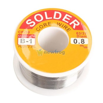 0.8mm  Tin Lead Tin Wire Melt Rosin Core Solder Soldering Wire Roll S7NF