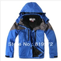 Free shipping! Waterproof thermal thickening tank two-piece male money ski-wear, mountaineering wear/ski suit