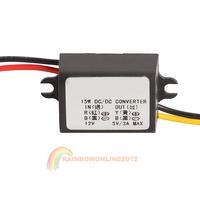 R1B1 23mm Car Charger DC Voltage Regulator Converter Module 12V To 5V 3A 15W
