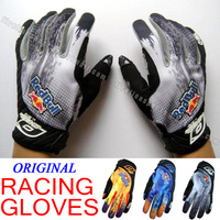 Original Bicycle Racing Gloves Motorcycle Motorbike Bike Cycling Motocross Gloves Offroad MTB ATV GEL BMX Bicycle Gloves