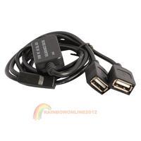 R1B1 New 12V to 5V 3A 15W Double USB DC-DC Buck Converter Step Down Module