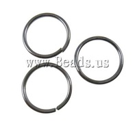 Free shipping!!!Iron Closed Jump Ring,christmas, Donut, plumbum black color plated, nickel, lead & cadmium free, 10x0.9mm