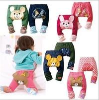 free shipping Stock Cotton Large PP pants cartoon pants leggings baby pants