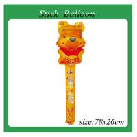 free shipping 100pcs/lot clapper balloon, stick balloon