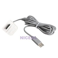 NI5L USB Charger Power Cord Cable For Microsoft Xbox 360 Wireless Controller