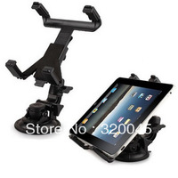 wholesale high quality car mounting bracket for ipad 2 stand car holder for ipad3 ipad 4  flat car holder suction cup bracket