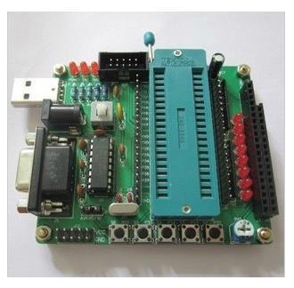 Free Shipping!  5pc 51/AVR DIY kit learning board microcontroller development board STC89C52