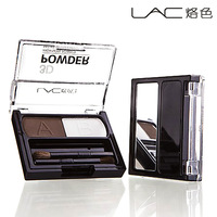 Lac make-up high gloss trimming powder two-color belt