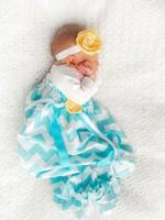 Chevron newborn long sleeve baby sleep sack bubble gown baby sleepwear Newborn sleep suit headband set 12sets/lot