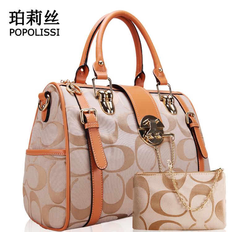 أحلى شنط Free-Shipping-Women-s-handbag-summer-messenger-bag-shoulder-bag-handbag-orange-2013-jacquard-pattern