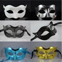 Men's Half Face Mask of Zorro mask dance mask Men Halloween half Mask masquerade party cos Halloween Horror
