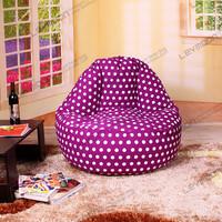 FREE SHIPPING bean bag cover bean bag chair for kids 100CM diameter cool bean bag chairs 100% cotton canvas bean bag chair cover