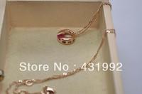 Fashion crystal necklace temperament