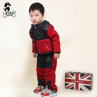2013  sports sweats set Promotion !! children's winter sets  Hoodies Long Sleeve winter Hoodies kids coat Tops Children Coat