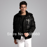 2013 new fashionable men's casual short design down coat winter waterproof men jacket hot selling male outerwear free shipping