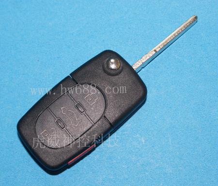 SK-815 Original folding remote control shell for Audir 3 buttons Auto key shell Auto folding key case(China (Mainland))