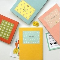 Blue Bai stationery--Korea stationery Make Space schedule book Simple illustration Color candy notebook diary book 112