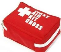 free shipping professional camping medical kits first aid kit portable bag square bag KC130