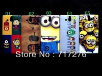 Despicable Me Minion  Sponge Bob  hard case for Sony Xperia U ST25i ,Free Shipping