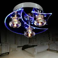 2013 New Deluxe LED Modern Crystal Chandelier D24*H12CM With 3 light Use for living room/Bedroom&CE ROSH
